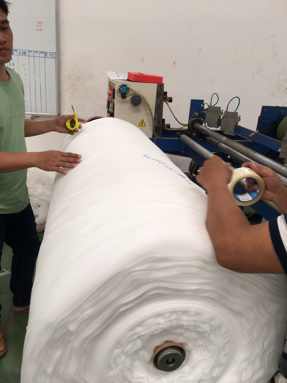 Sản xuất Màng Pe Foam